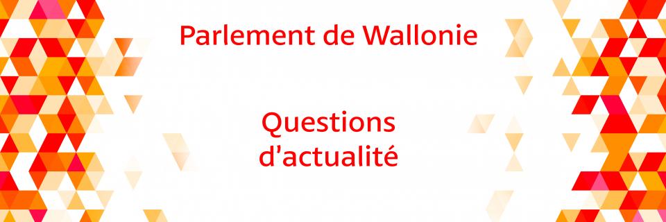 Groupe Socialiste du Parlement de Wallonie - Questions d'actualité - 07 juillet 2021