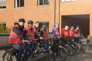 Groupe Socialiste du Parlement de Wallonie - Album photos - Sensibilisation à l'utilisation du vélo