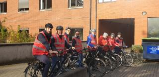 Groupe Socialiste du Parlement de Wallonie - Sensibilisation à l'utilisation du vélo -